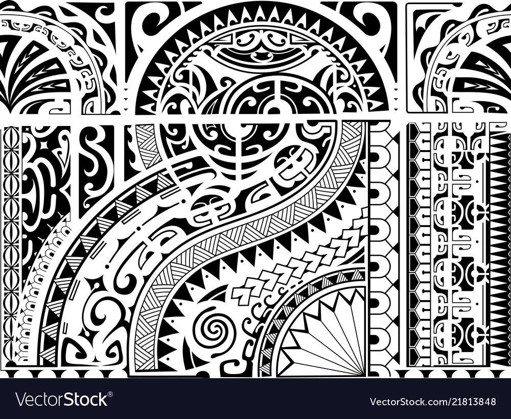Aztec ethnic style ornament