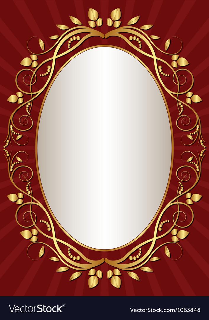 Dark red background vector image