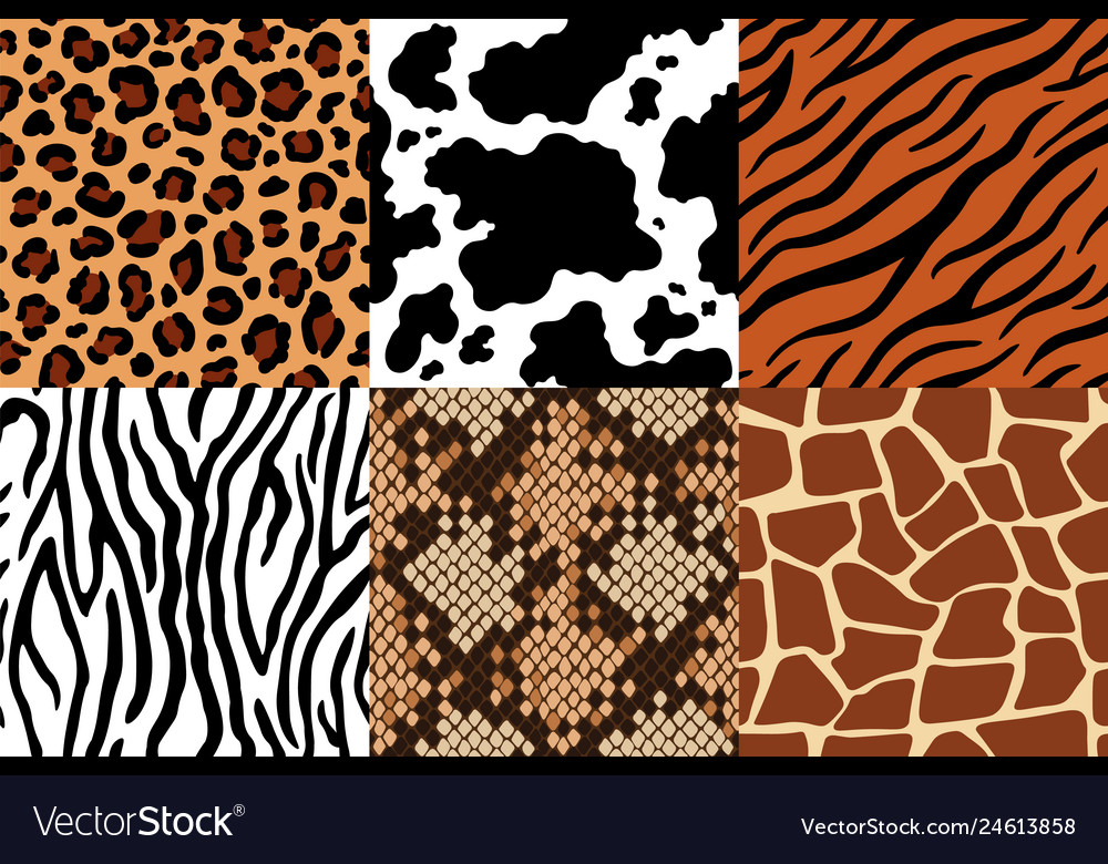 Animal skins pattern leopard leather fabric