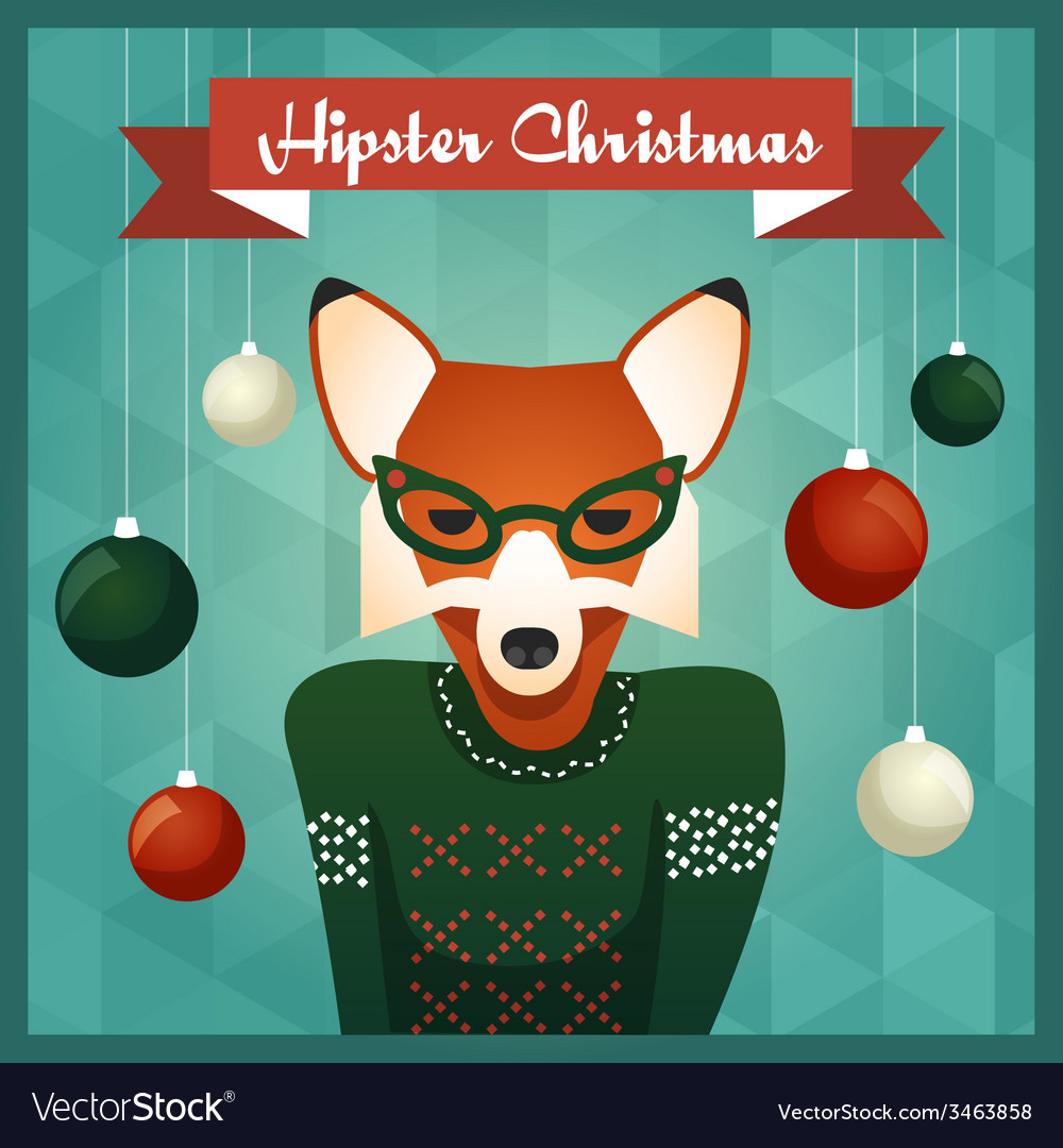 Cute Fox girl in sweater