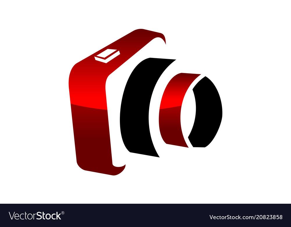 Image studio photo logo design template