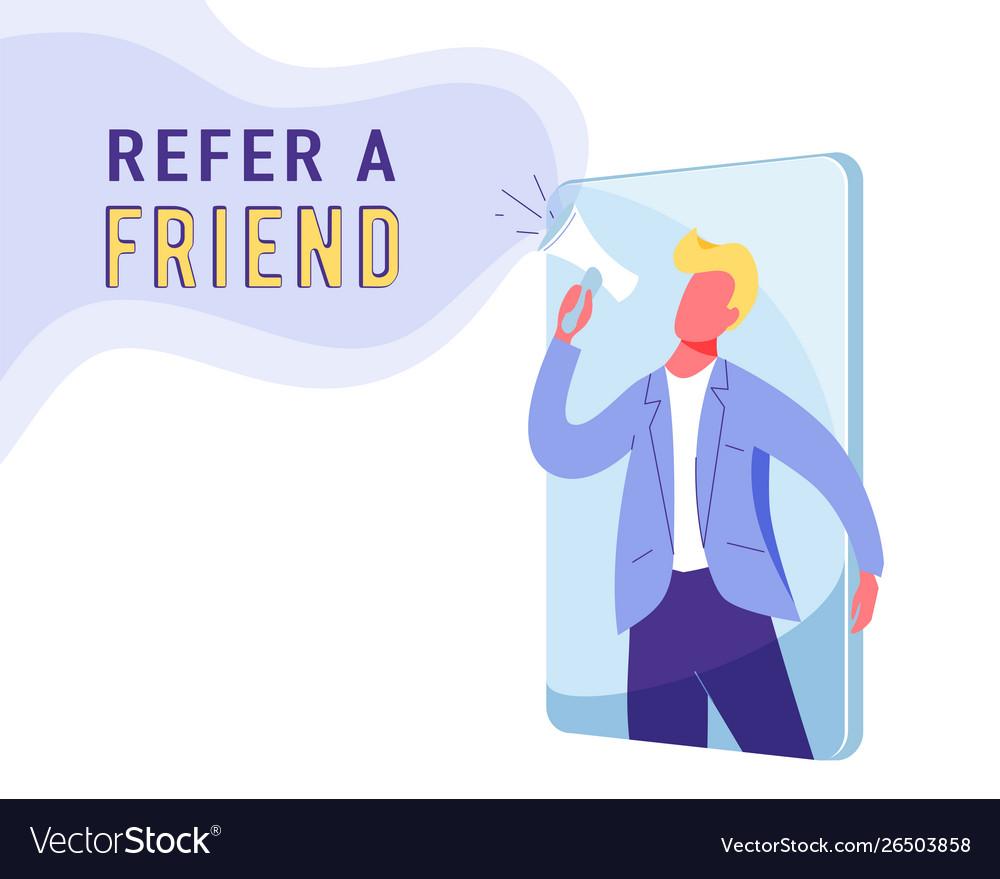 Refer a friend marketing background