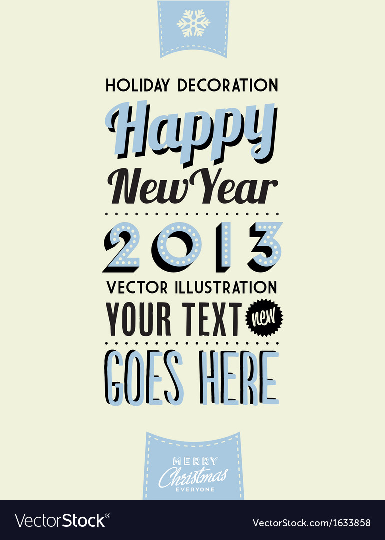Retro Vintage Merry Christmas Tin Sign Royalty Free Vector