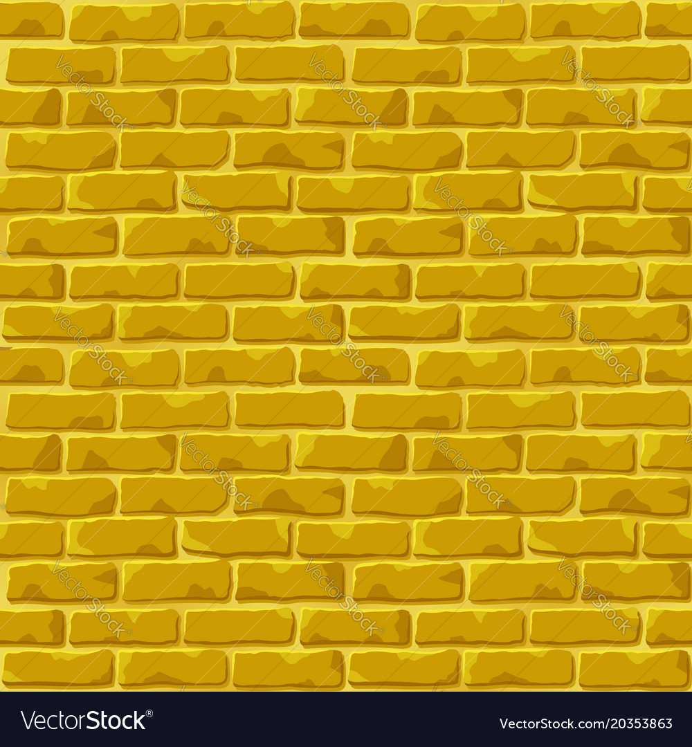 Brick Vector Picture Brick Veneers: Golden Brick Wall Texture Royalty Free Vector Image