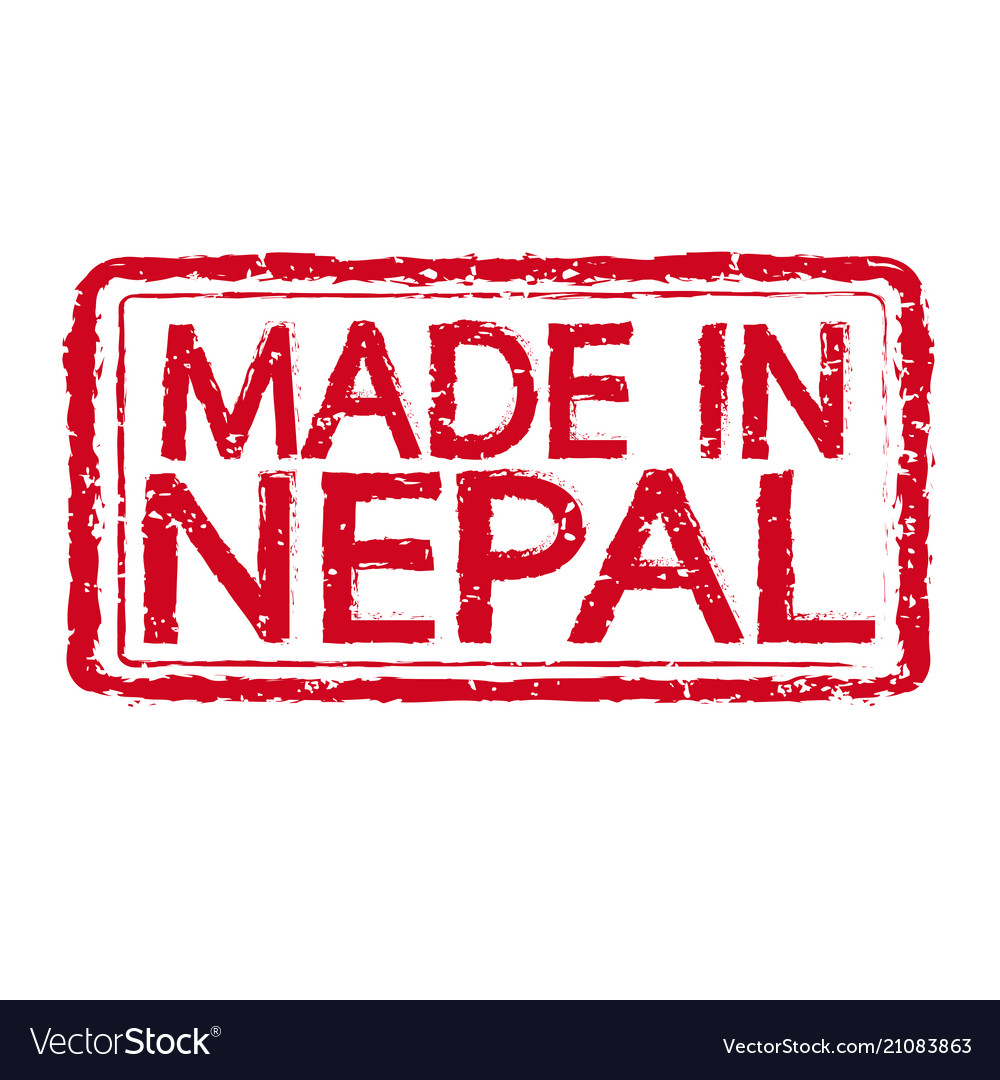 12+ Made in nepal stamp text Royalty Free Vector Image Kollektion
