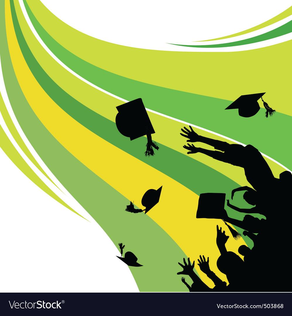 Graduation Royalty Free Vector Image - VectorStock