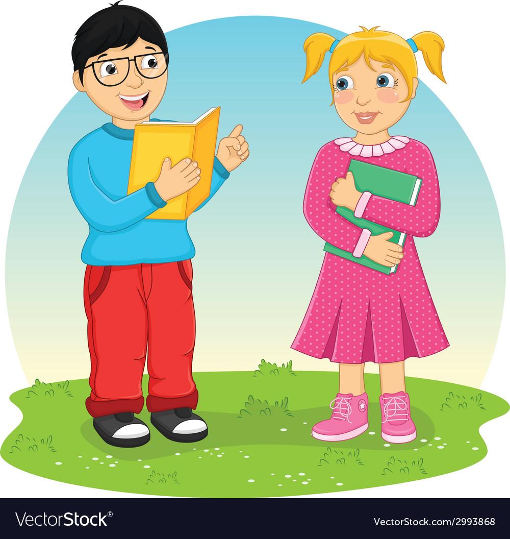 Kids Reading Book