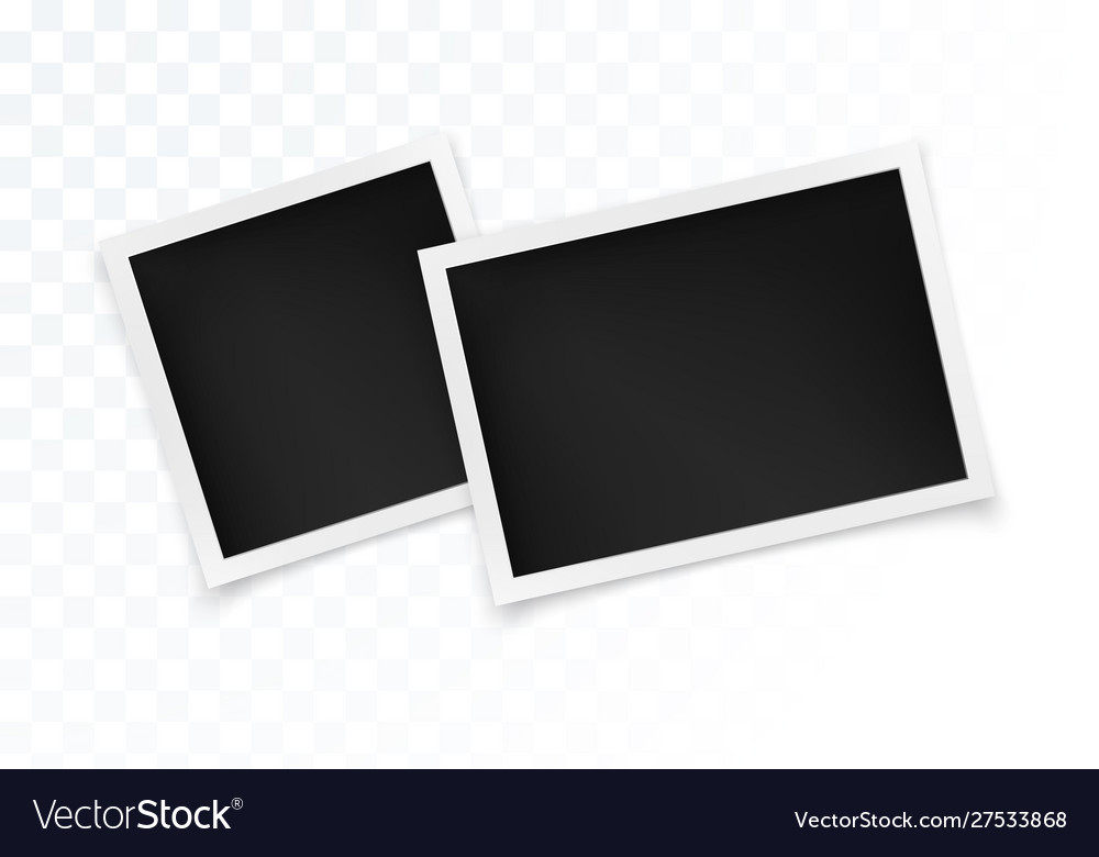Photo frame set square and horizontal photography