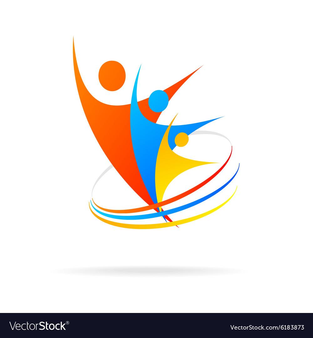 Logo successful people