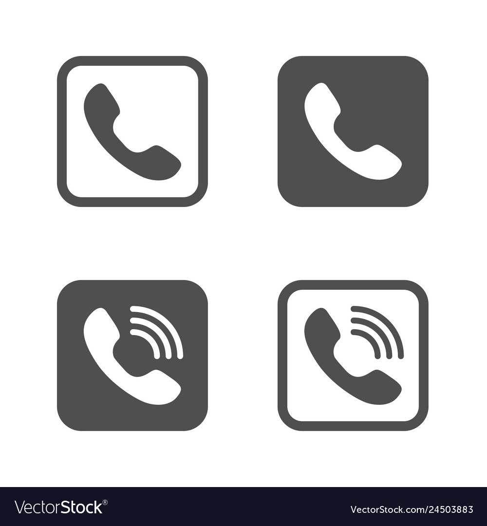 Phones icons filled and outlined style