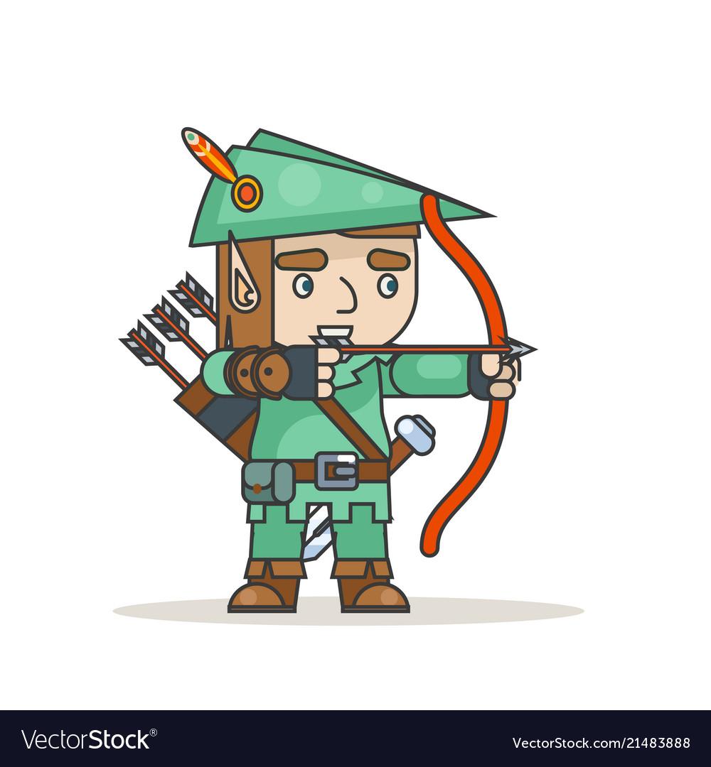 Archer sharpshooter bow arrow elf fantasy medieval