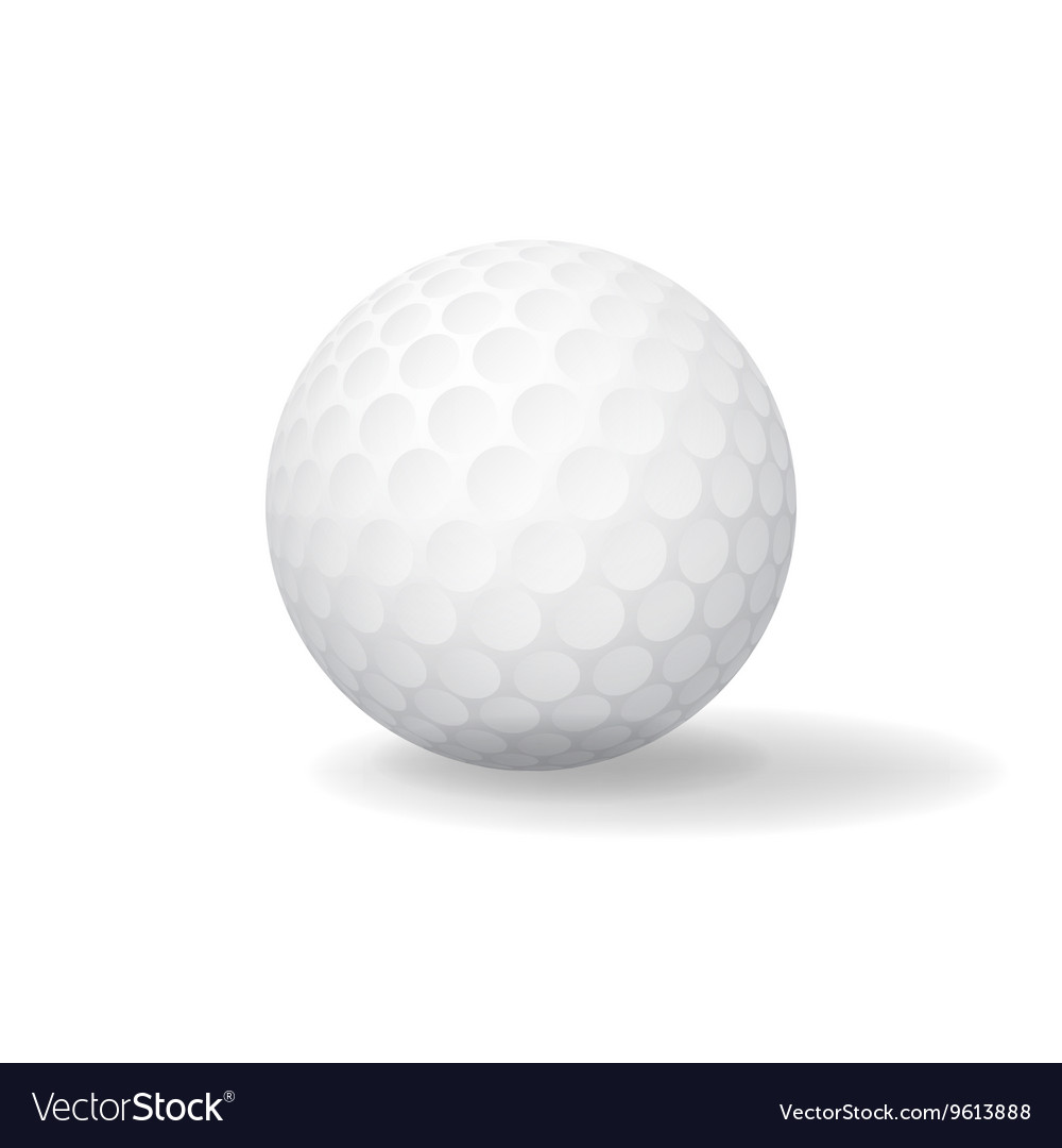 Ball for Golf Golfball icon Game symbol
