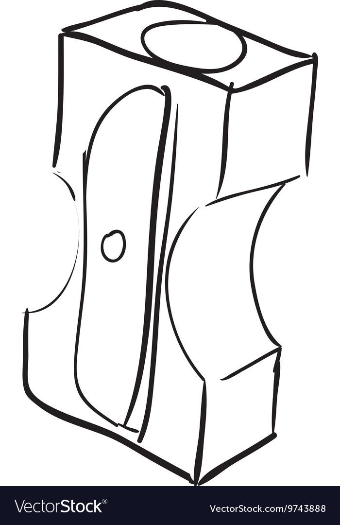 Pencil sharpener icon Instrument design