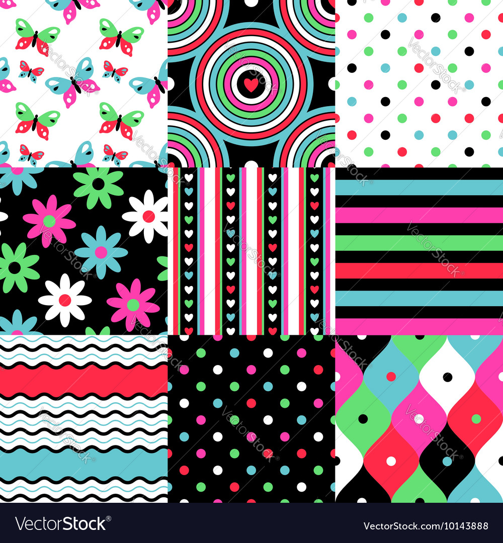Pop patterns collection