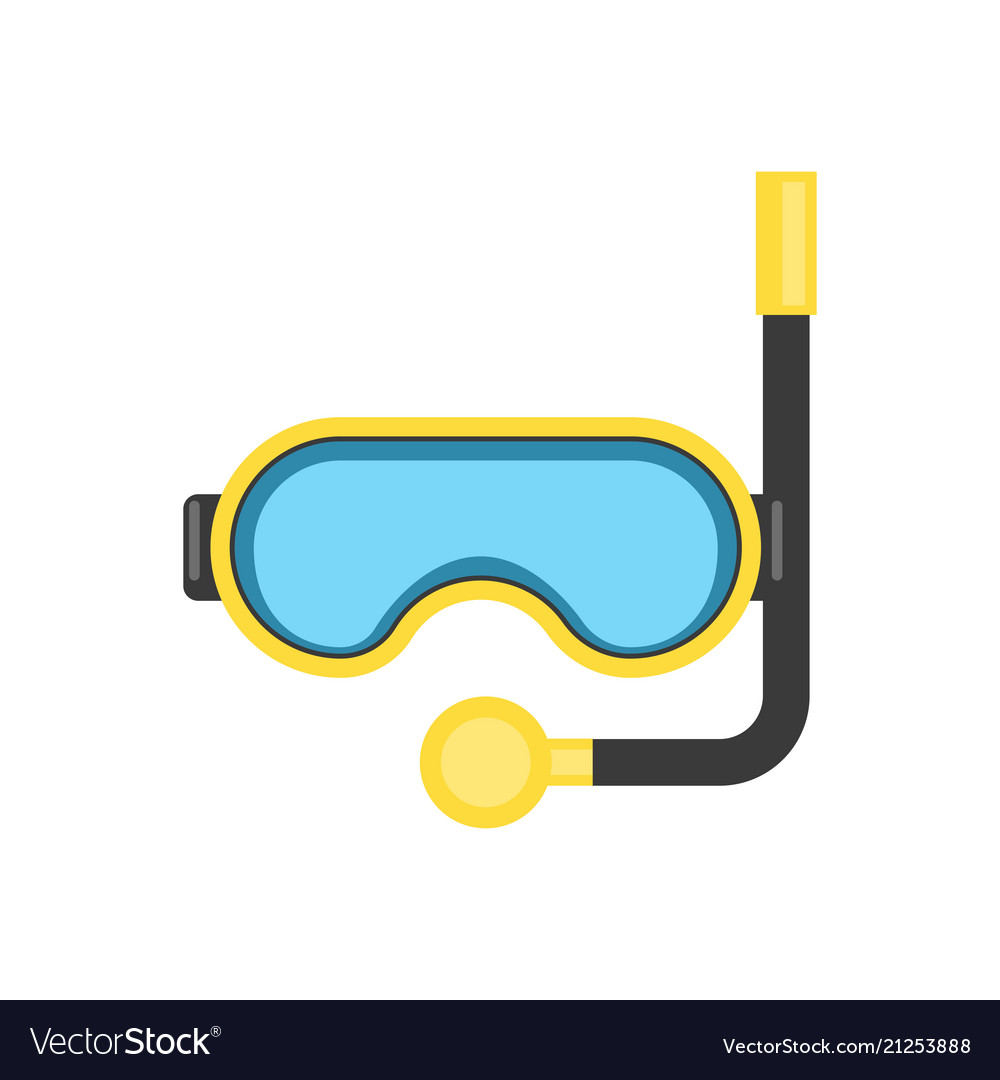 Snorkel mask - equipment for diving or relaxing at