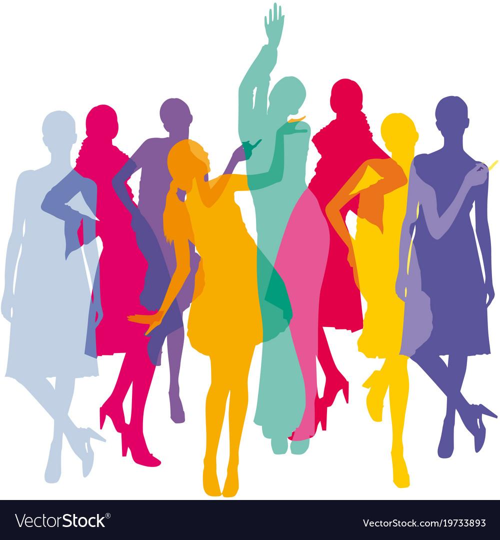 Fashion colorful background