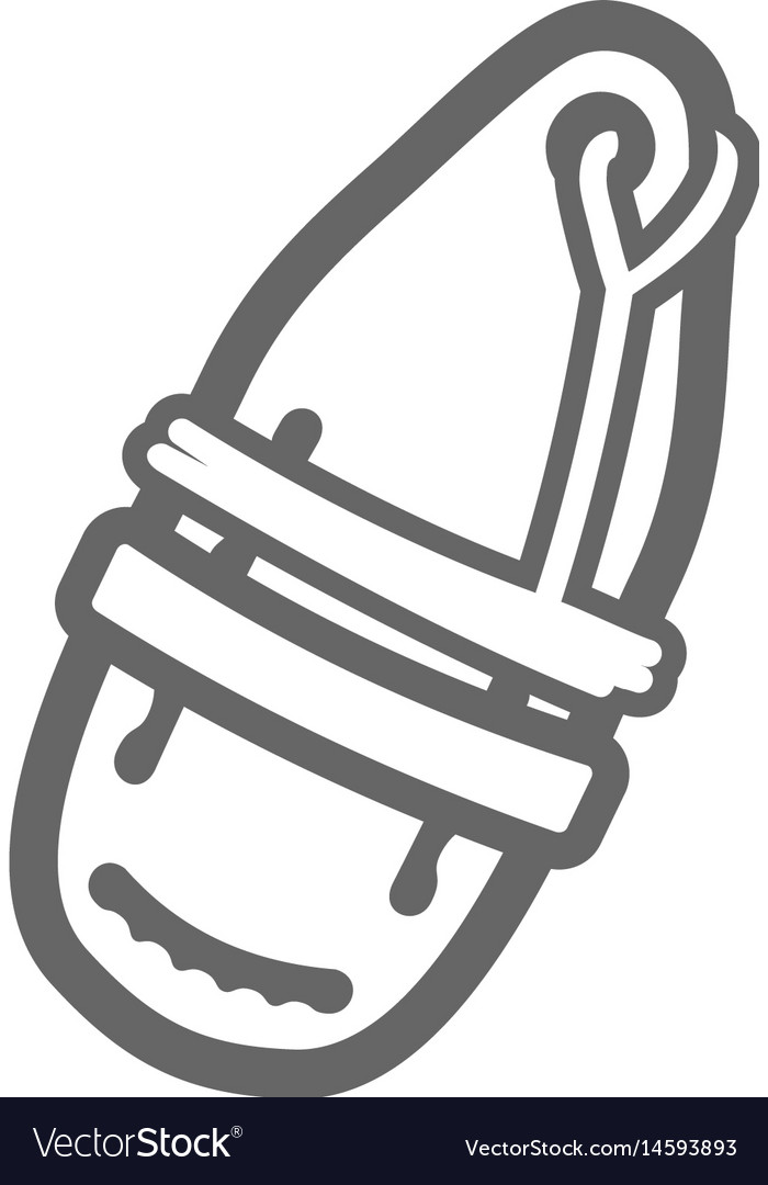 Torpedo rescue lifeguard buoy icon summer