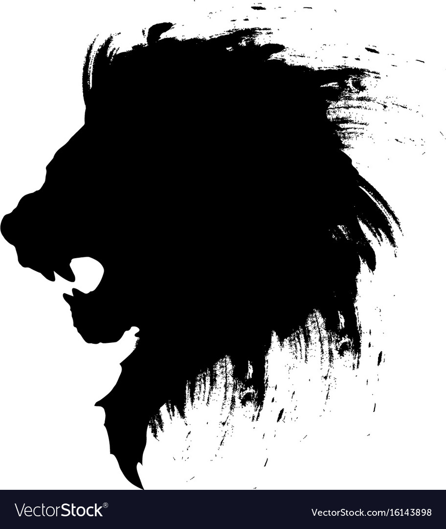 Lion Head Tattoo 4 Royalty Free Vector Image Vectorstock Lion outline images stock photos vectors shutterstock. vectorstock