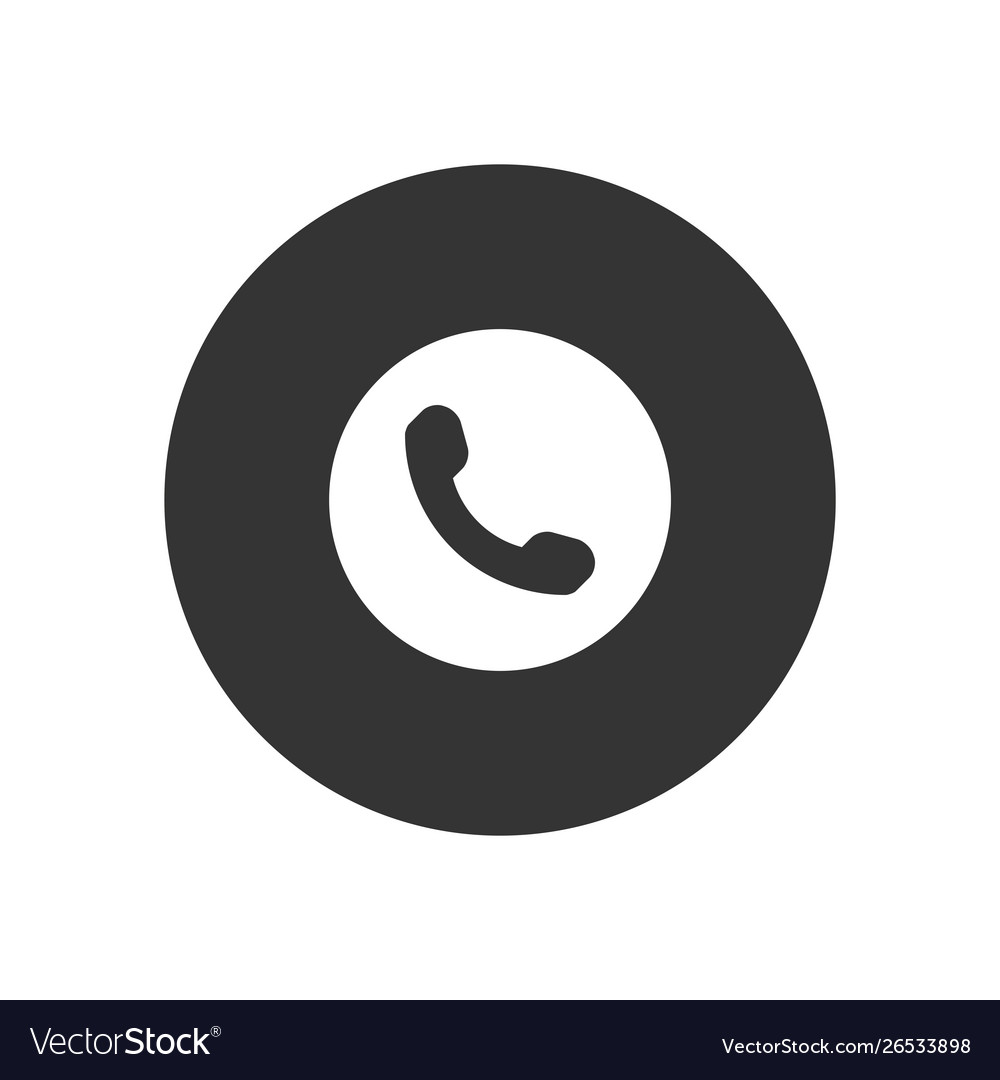 Phone icon in modern style for web site and