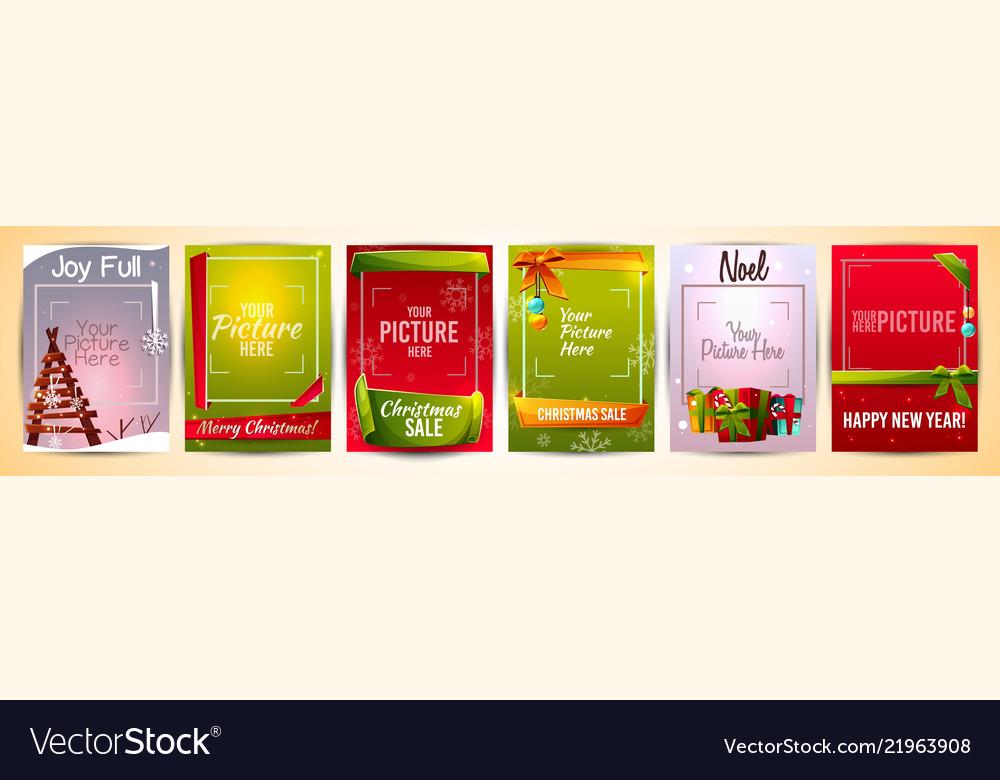 Year greeting card templates
