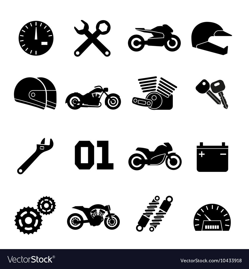 Motorbike Motorcycle Race And Spare Parts