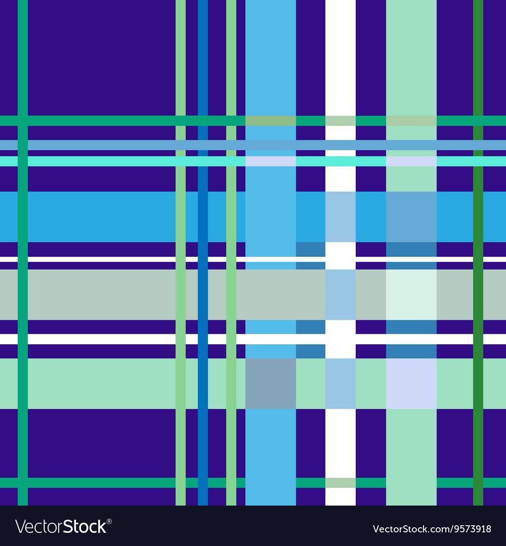 Tartan blue seamless pattern