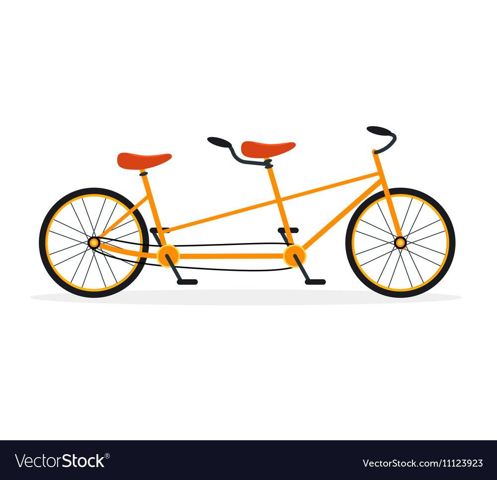 Tandem Bike Flat