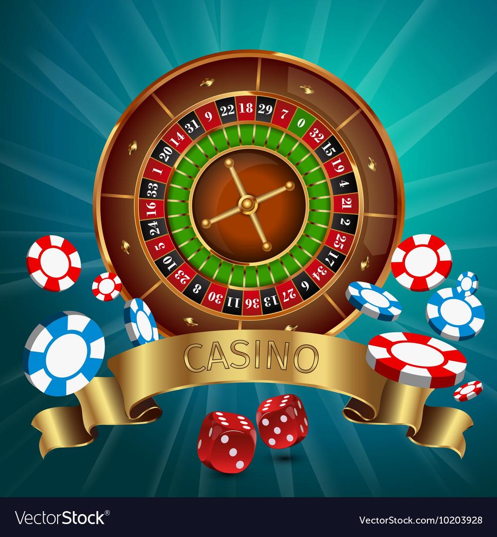 Realistic Casino Poster