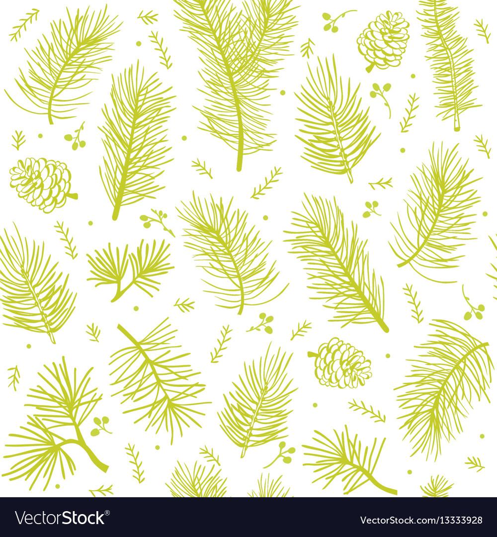 Seamless background tree