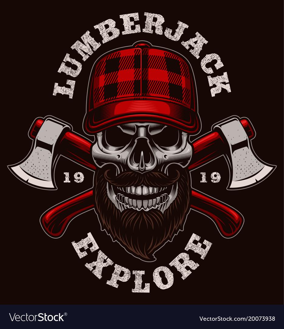 Lumberjack skull