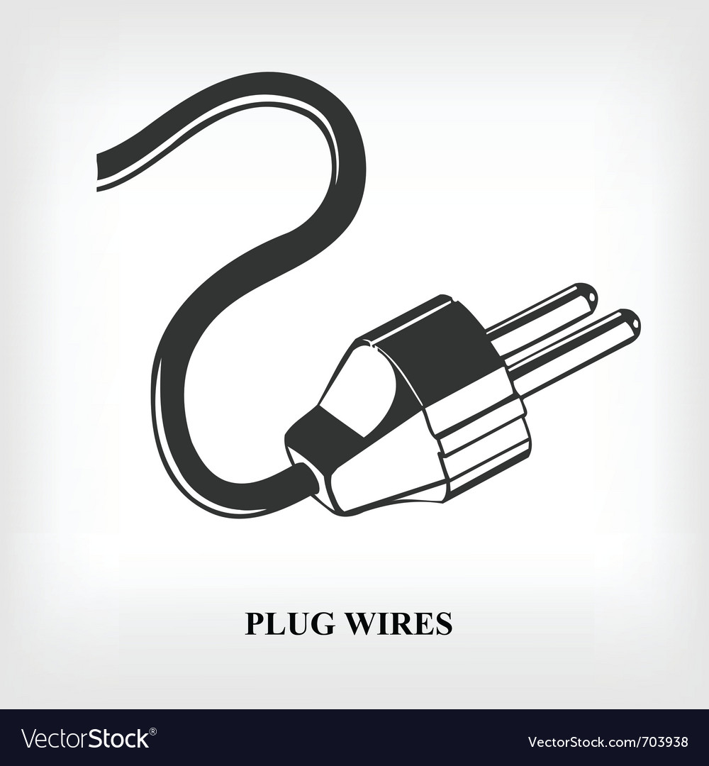 Power plug wire