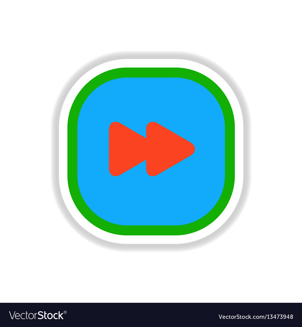 Color label design icon design button music