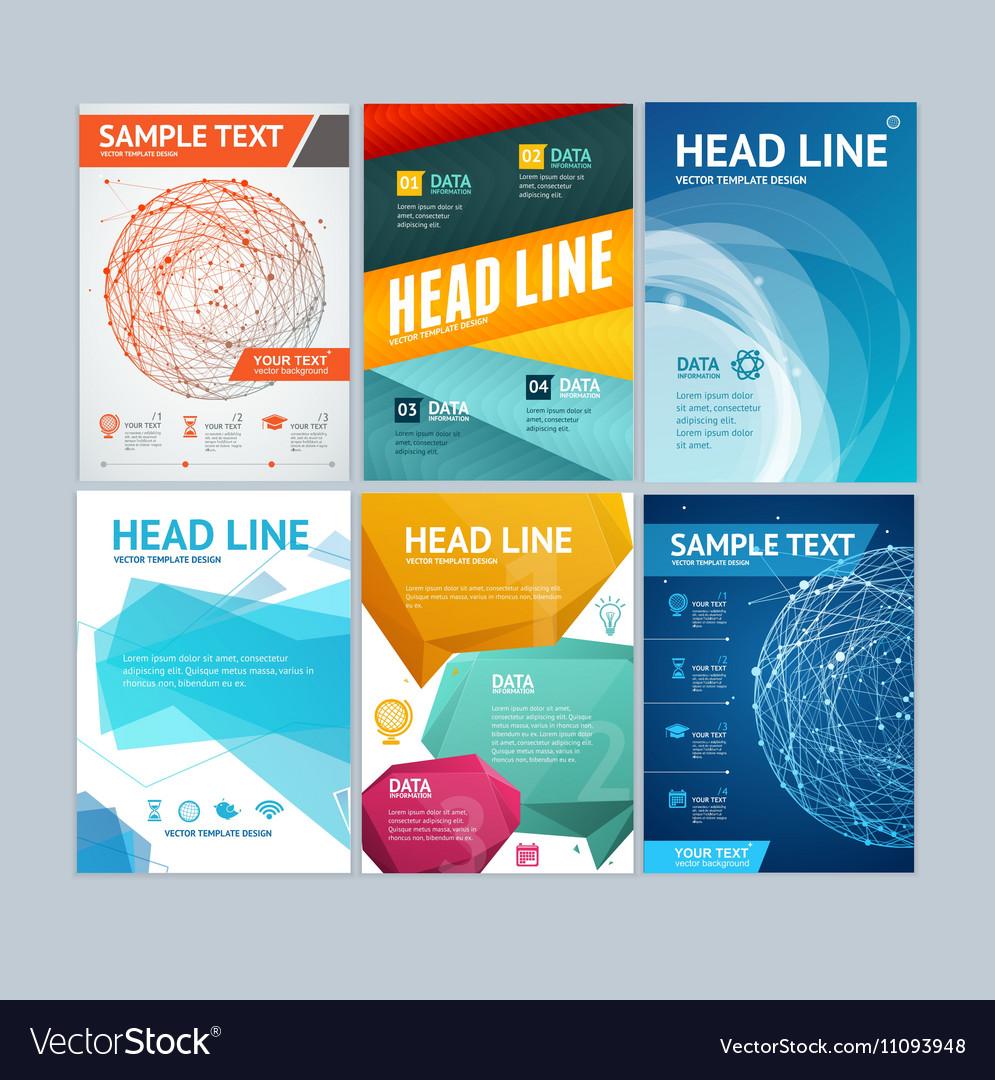 Placard Flyer Brochure Poster Set