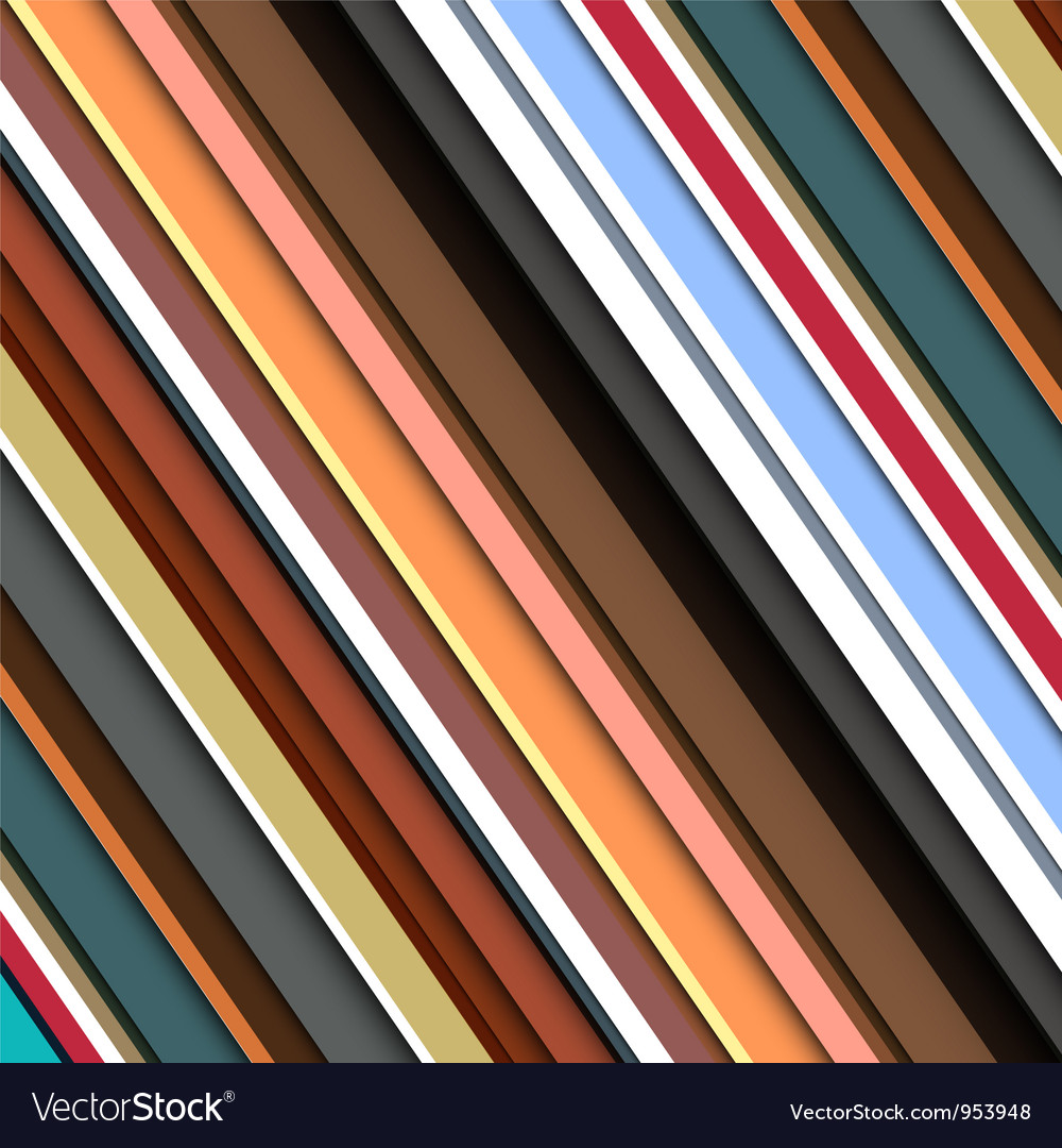 Striped pattern in retro colors