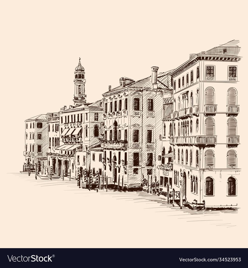 An old european city