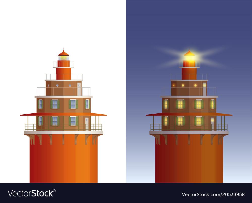 Day night lighthouse