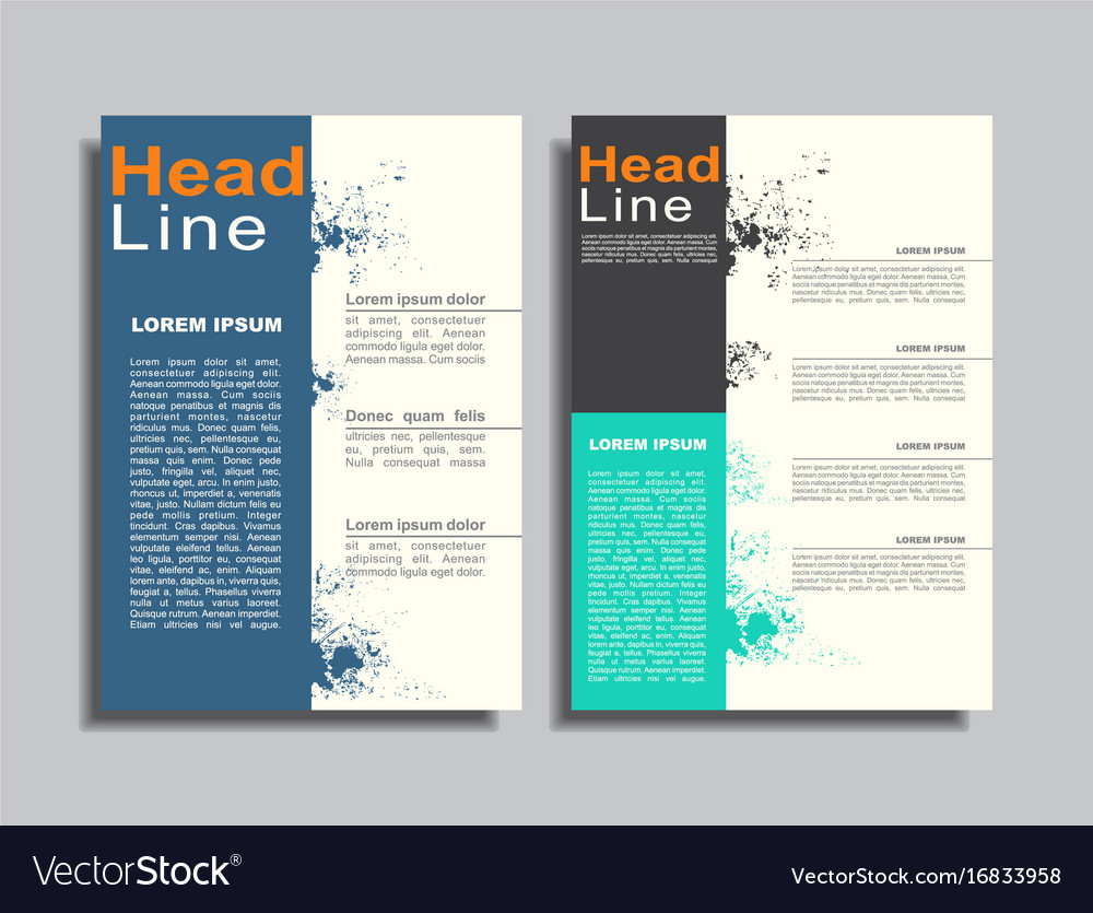 Flyers Report Brochure Cover Book Portfolio Design
