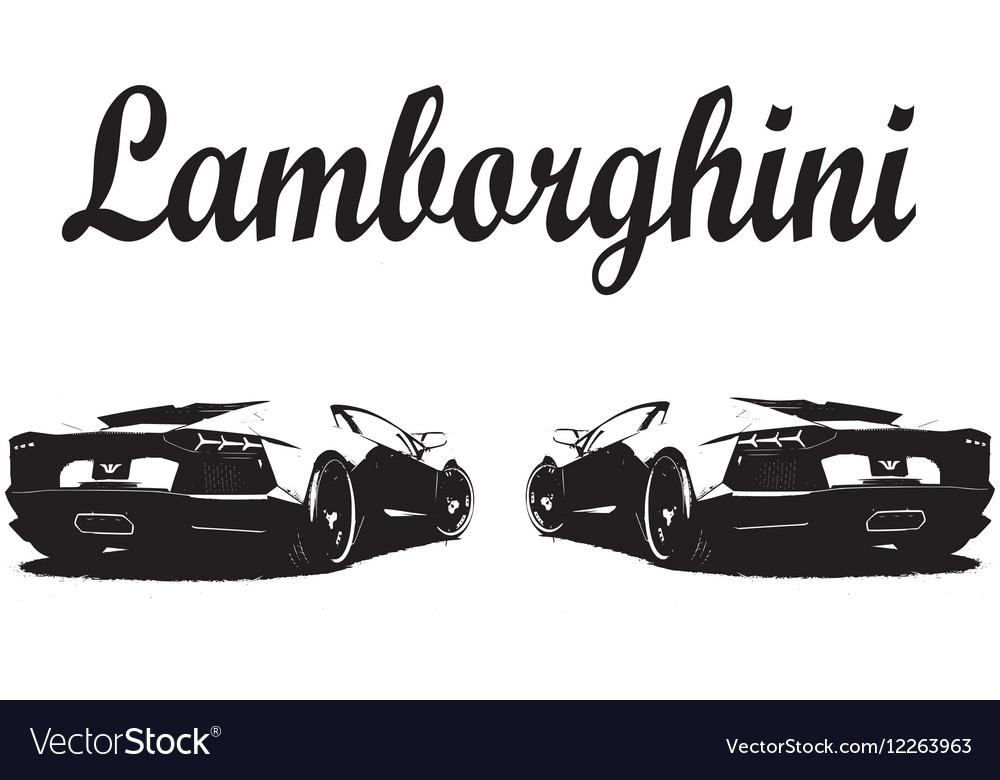 Car Lamborghini Sport Vector Images 15
