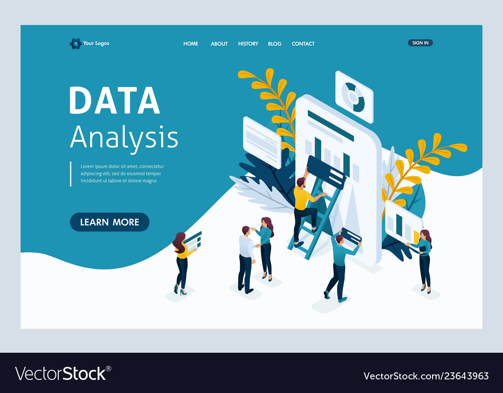 Landing page for business solutions