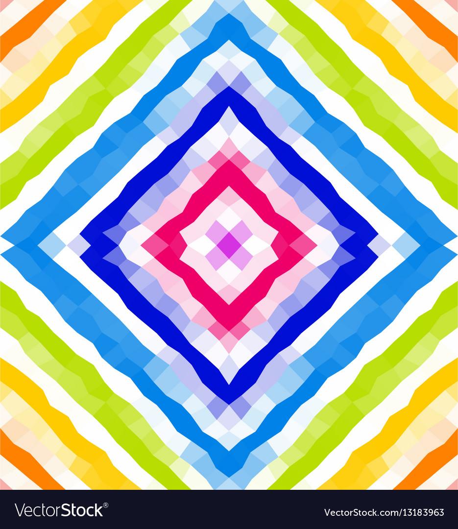 Seamless geometric pattern Polygonal mosaic