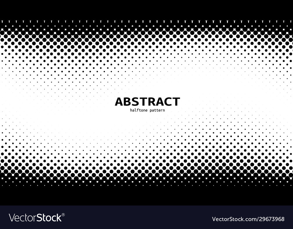 2d abstract bw halftone wave simple background