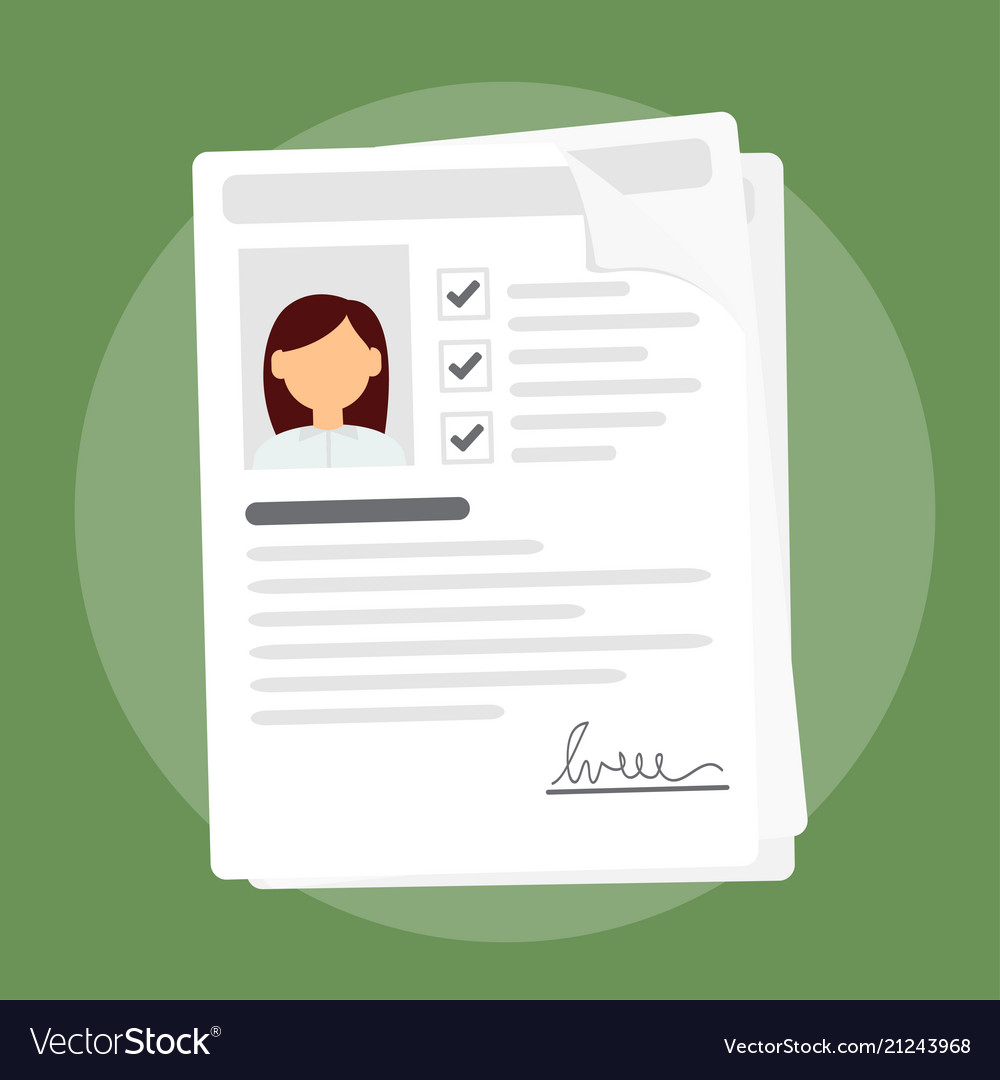 Documents with personal