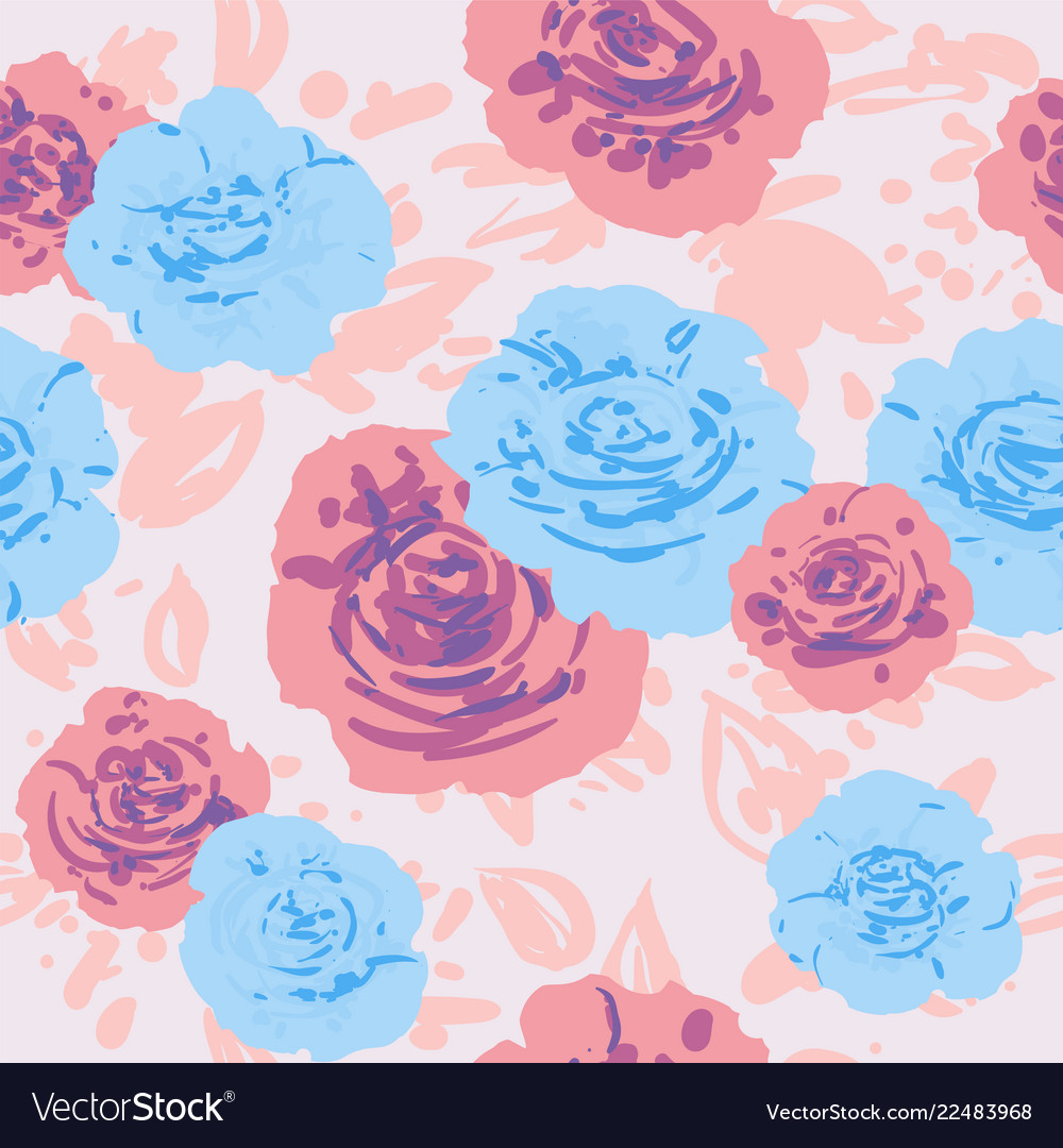 Pastel color roses