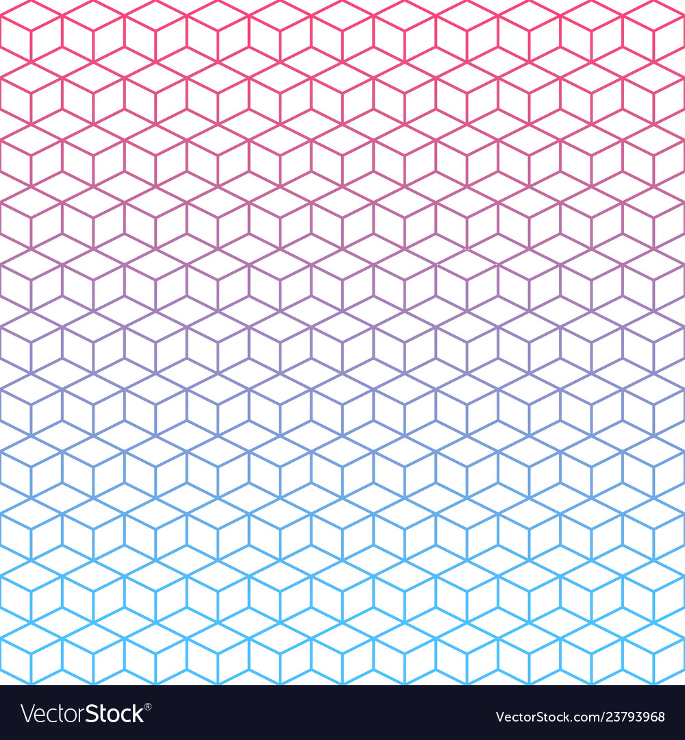 Seamless geometric gradient background texture
