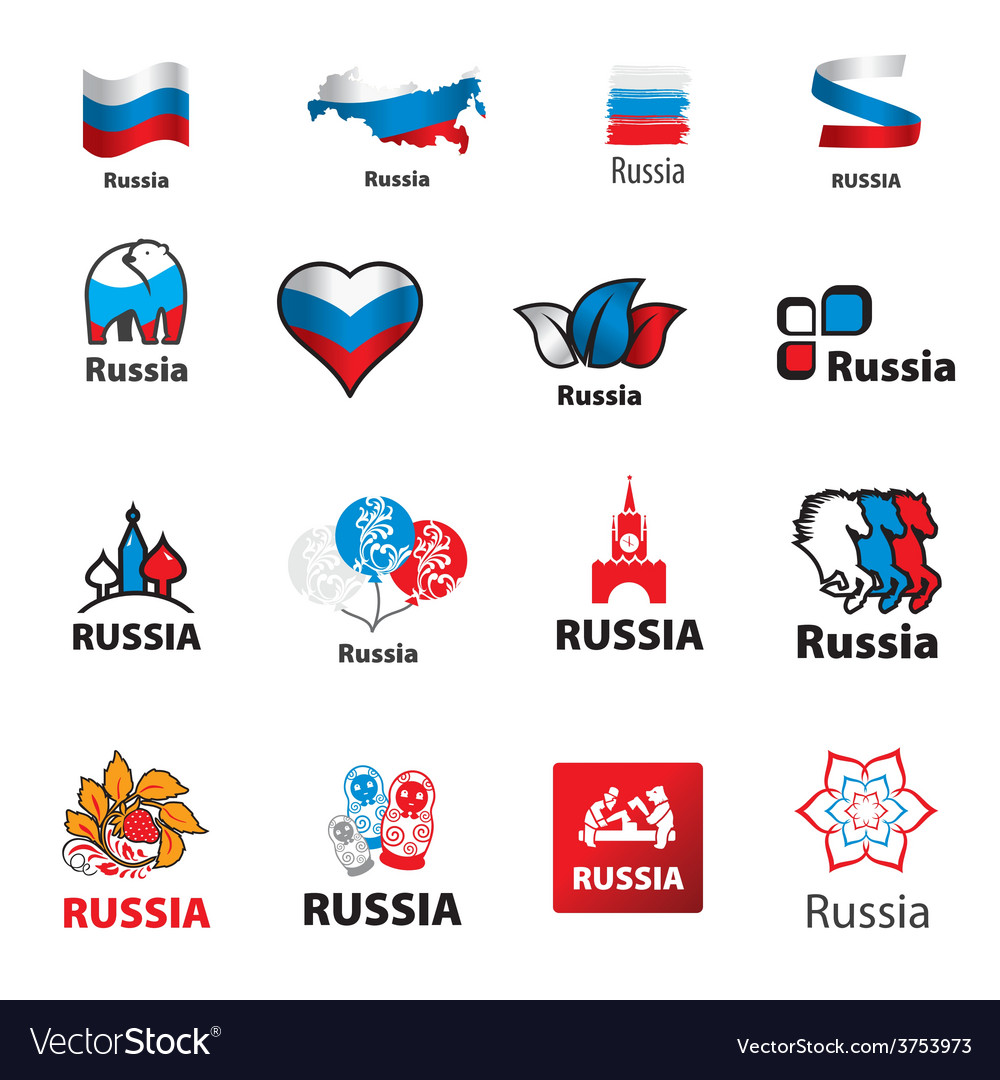 Biggest collection of logos Russia