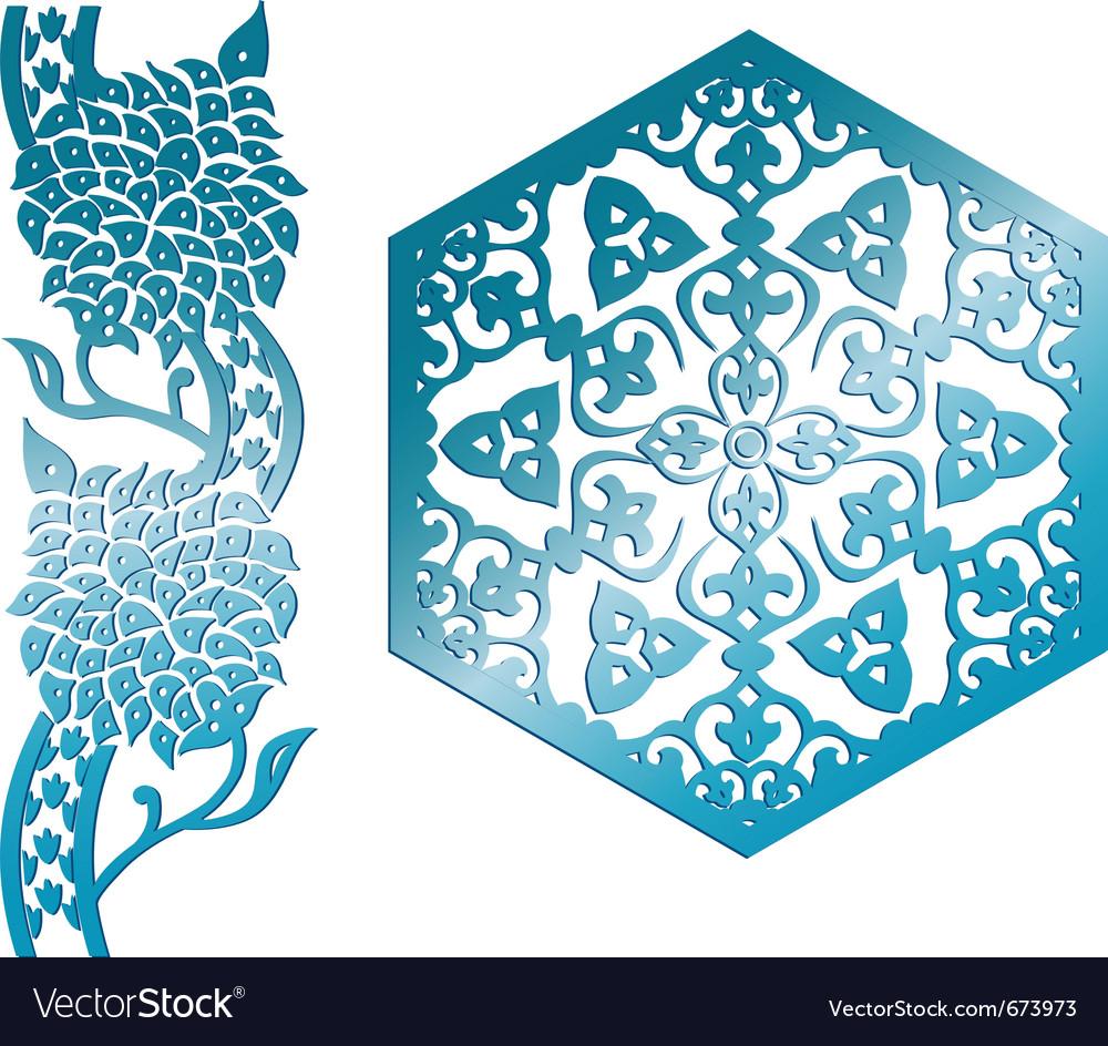 islamic design element royalty free vector image rh vectorstock com islamic vector psd islamic vector border