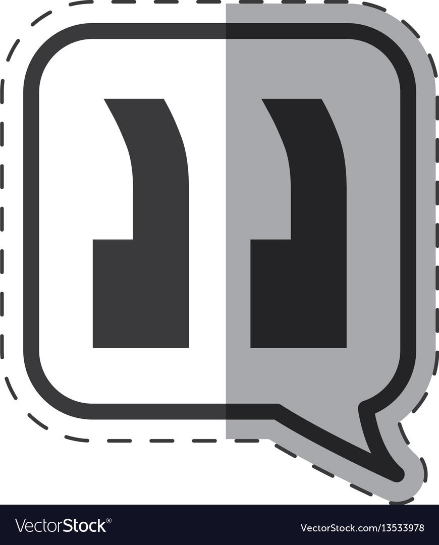 Speech bubble discussion icon