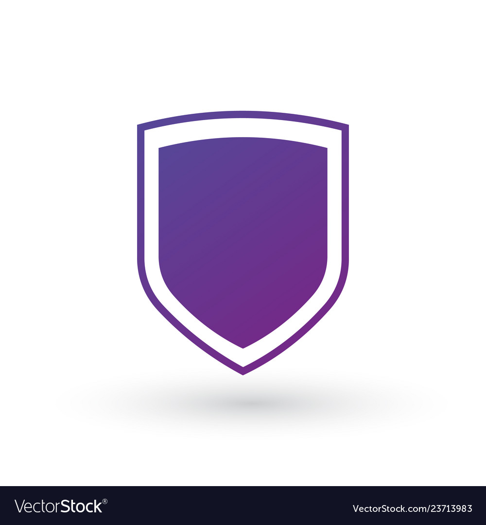 Abstract security icon isolated on white