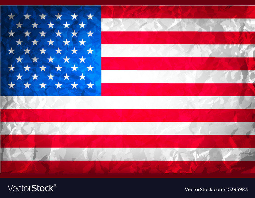 American grunge flag grunge for a background of a