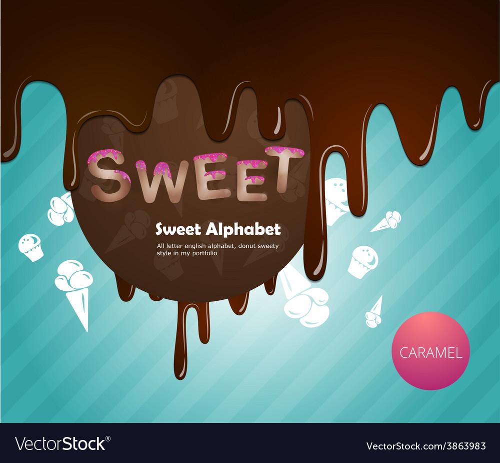 Sweet alphabet